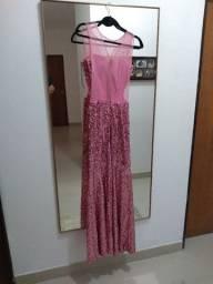 Lindo vestido de festa, ótima oportunidade!