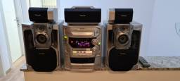 Aparelho de som Panasonic AK 78 5 CDs