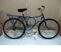 Bicicleta Monark Barra Circular Antiga Restaurada
