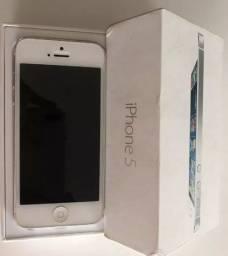 Iphone 5S 16GB de cor branca
