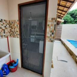 Telas Mosquiteiro para fechamento completo da sua residência ou comércio.