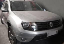 Duster Renault 2015 TechRoad 2.0 Automática Prata Batida para vender logo