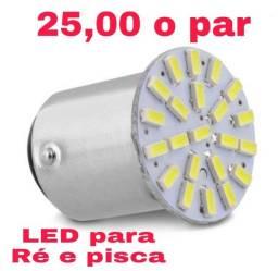 LED para Ré e pisca