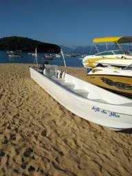 Lancha barco bote tipo táxi boat 9+1 motor yamaha 40 hp