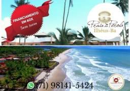 Único- Condomínio Praia da Pérola-Beira mar-Praia do Norte Ilhéus