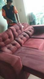 Higienização do seu sofá a seco
