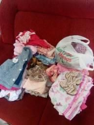 Troco roupas de bebê menina por roupas de menino de 8 a 9 anos