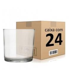 Conjunto com 24 copos Whisky 320 ml