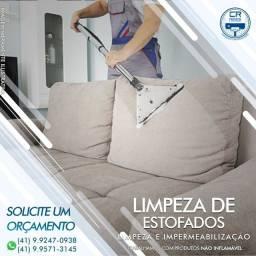 CR PRIMOR limpeza higienização e impermeabilização de sofá