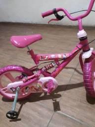 Bicicleta infantil para menidas princesa