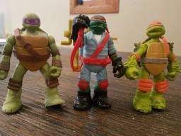 Bonecos tartaruga ninja originais articulados  12 cm cada