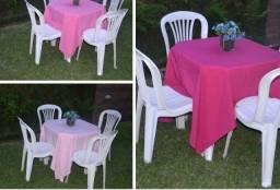 Aluguel de mesas e cadeiras para Anápolis