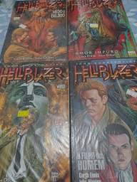 Hellblazer infernal vol 4,5,6 e 8 R$25,00 cada+frete