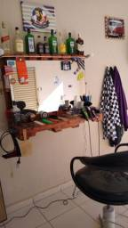 Cadeira bancada e lavatório