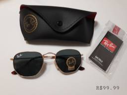 Ray ban hexagonal unissex