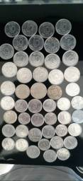 Coleção de moedas antigas e raras com preço imperdível. (APROVEITEM)(ITAJAÍ)
