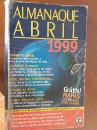 Vendo um almanaque abril 1990