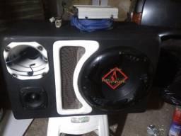 Caixa de som Labirinto completa com módulo Ts 400