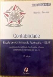 Livro Contabilidade - Escola de Administração Fazendária