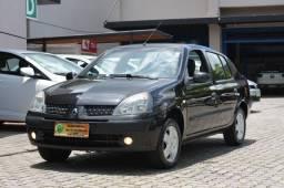 RENAULT CLIO SEDAN 1.0 PRIVILEGE 2004 4p MANUAL COMPLETO Raridade