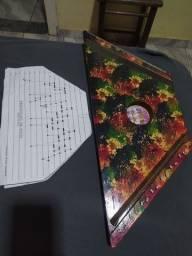 Citara Mini Harpa Muito Conservada