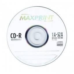 (WhatsApp) cd-r gravável 80min maxprint