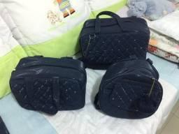Vendo móbile de berço + bolsas maternidade