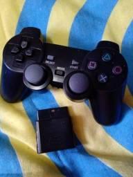 Controle bluetooth para Playstation 2