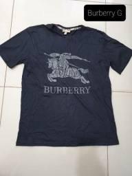 Camiseta masculina Burberry G Original NOVA
