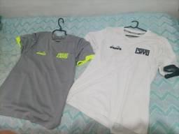 2 camisas Vasco da Gama Diadora.