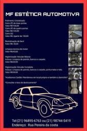 Higienização e polimento automotivo