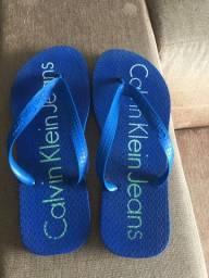 Sandália tipo havaianas CALVIN KLEIN original