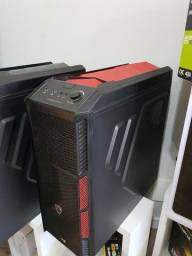 Gabinete Gamer Mid Tower Xpredator X1 Aerocool Devil Red