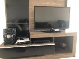Rack para tv, com gaveta