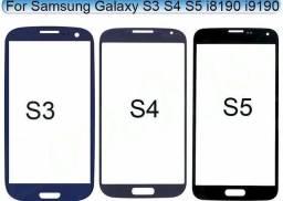 Troca de vidro do Samsung S3 S4 S5 A3 A5 A7 E3 E5 E7