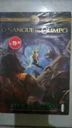 Livro O Sangue do Olimpo NOVO