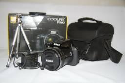 Nikon P 900 praticamente sem uso