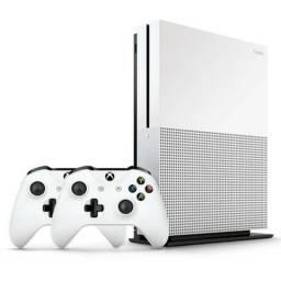 Microsoft Xbox One S 500gb 2 Controles + 7 Jogos