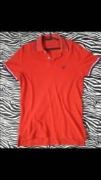 Camiseta American Eagle Original, 100% algodão