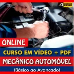 Curso Mecanico Automotivo Com Certificado