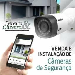 Câmeras com acompanhamento pelo app .