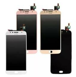 Tela Touch e Display Motorola Moto G5-G5 Plus-G5S-G5S Plus