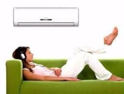 Instalação de Ar Condicionado 450 reais com material _ Tbm venda de aparelhos e Manutenção
