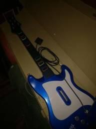 Guitarra para Guitar Hero PS2 (Leia a descrição)