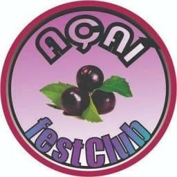 Estação de Açaí, sorvete, salada de frutas