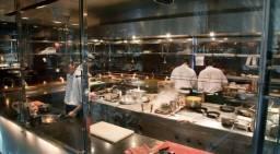 Cozinheira profissional Forno & Fogão