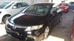New Civic LSX manual 1.8 completo com banco de couro top - 2010