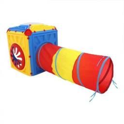 Casinha de brinquedo cubo túnel infantil bel brinks-Bel Sports