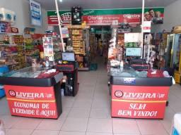 Alugo mercado completo