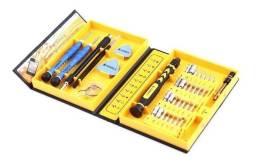 Título do anúncio: Caixa De Ferramentas K-tools 38 Pçs Para Reparos Celulares